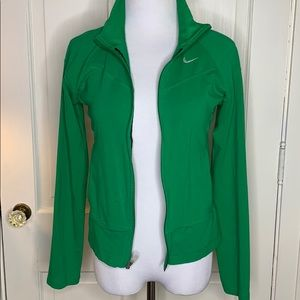 Nike Green cotton jacket Size Small